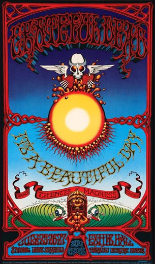 rick griffin gallery of concert and gig poster art